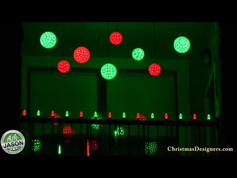 christmas lighting for your apartment or condo balcony