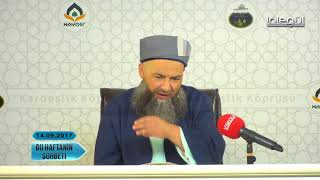 14 Eylül 2017 Tarihli Bu Haftanın Sohbeti - Cübbeli Ahmet Hocaefendi Lâlegül TV