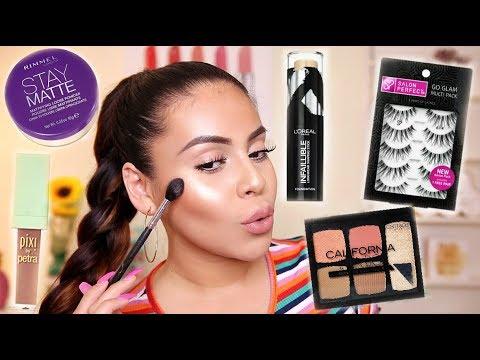 Drugstore Back To School Makeup Tutorial 2018 | JuicyJas