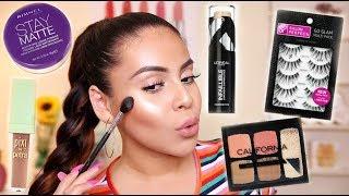 Drugstore Back To School Makeup Tutorial 2018   JuicyJas