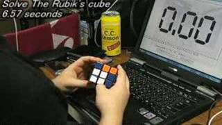 Rubik's Cube: 6.57 seconds thumbnail