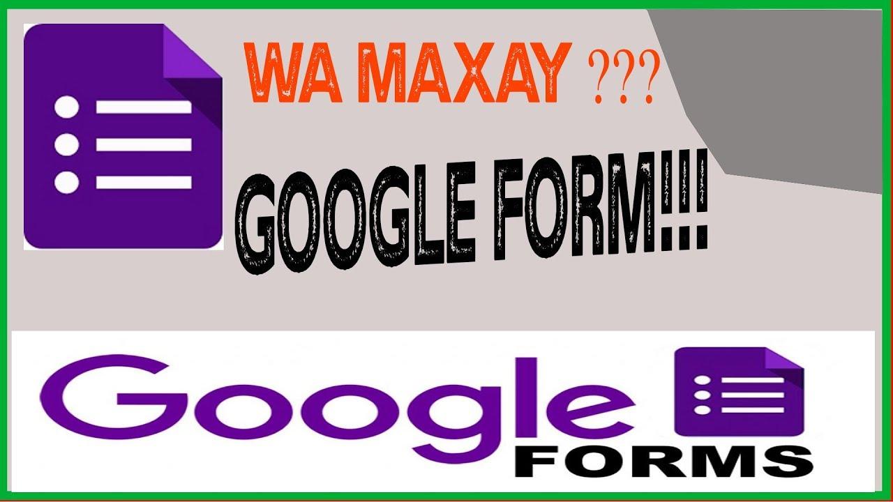 GOOGLE FORM 2018 (SIDE LOO SAMEEYA REGISTRATION FORM) - YouTube