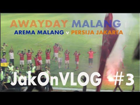 #Awayday Spesial Bumi Arema, Arema V Persija (ft. Jak Rawasari Sektor 10) | #JakOnVlog 3