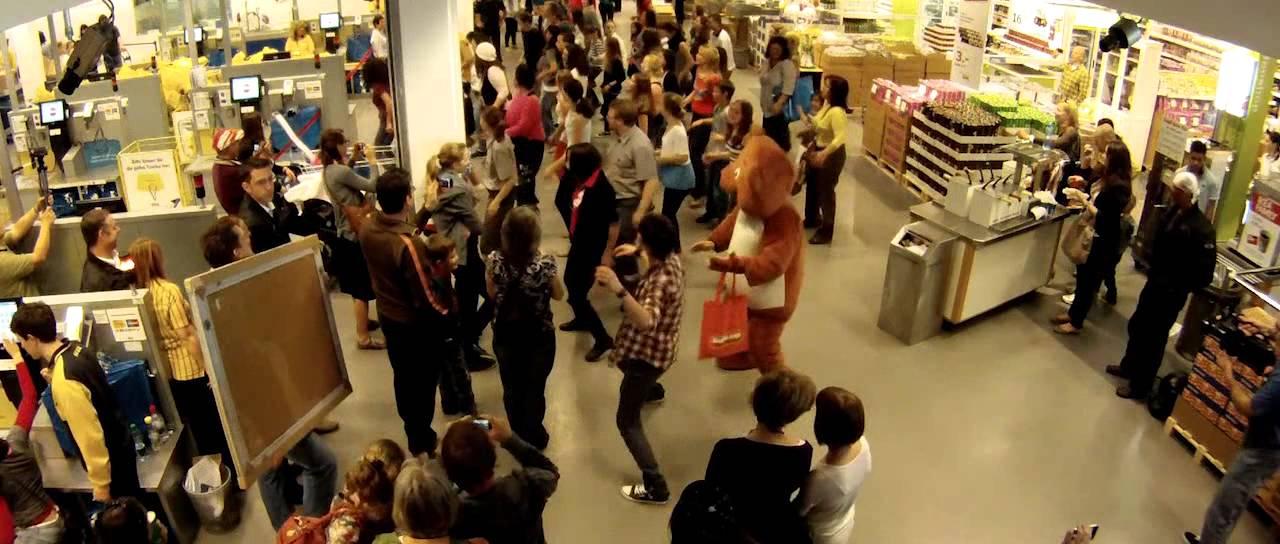 Funkydance Flashmob IKEA Dietlikon «Mamma Mia» - YouTube - photo#6