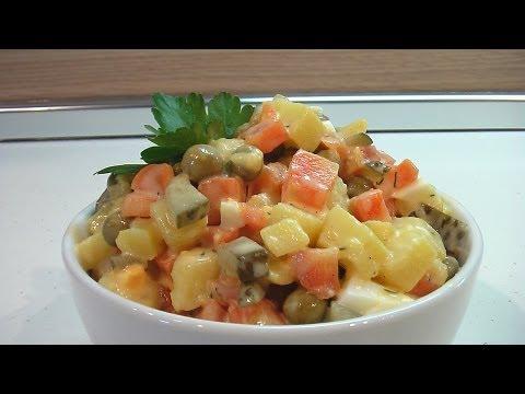 Как сделать салат рассол #4