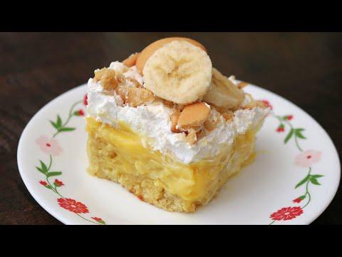 Amazing Banana Pudding Poke Cake Recipe (Easy and Delicious!)