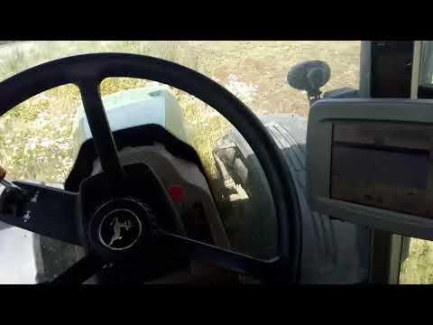 Трактор John Deere 8530 и диски Kverneland.