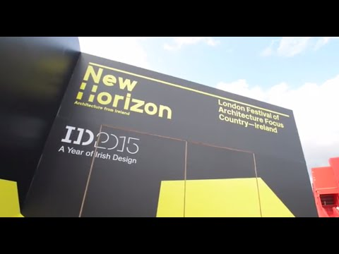Irish Design 2015 at London Festival of Architecture