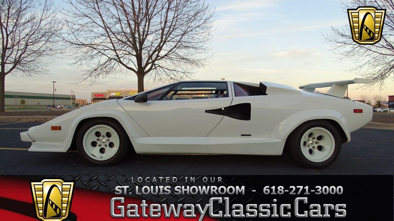 7123 1988 Lamborghini Countach Gateway Classic Cars Of