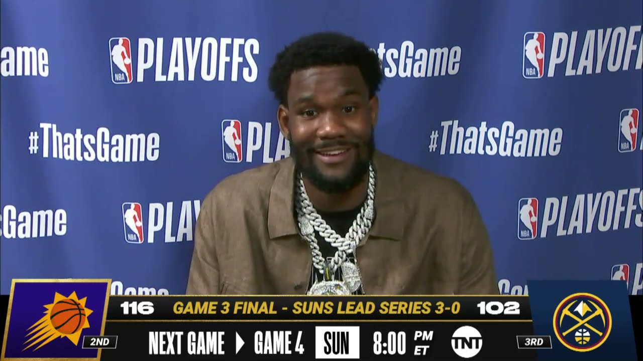 Download Deandre Ayton Game 3 Postgame Press Conference | #NBAPlayoffs