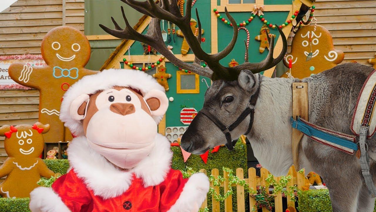MEETING REINDEERS!   Obo's Christmas Adventure for Ellie Explorer   My Animal Learning Adventure