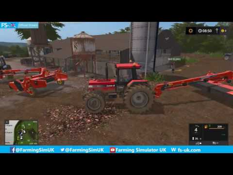 Coldborough Park Farm Lakeview Estate Mowing! FS-UK Official Livestream (12)