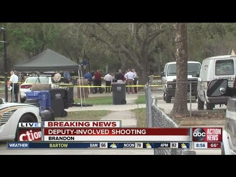 Suspect killed in deputy-involved shooting in Bloomingdale area of Brandon