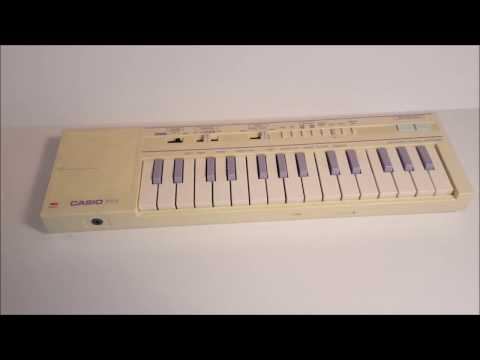 Casio PT-1 Vintage Early 1980s Mini Keyboard
