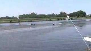 RC Airboat MABA G2 class race