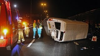 Voormalig Formule 1-coureur Christijan Albers betrokken bij ongeval op A1