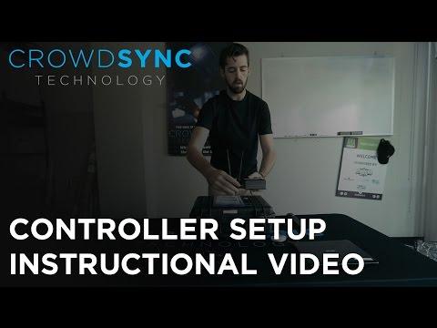 CrowdSync LED Wristband Controller Setup Video
