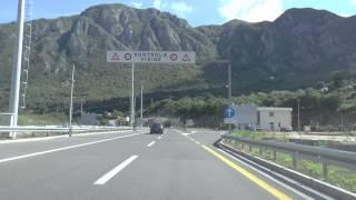 Czarnogóra / Montenegro . Tunel Sozina - Buljarica