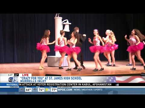 Amanda Live at St. James High School for spring musical - Good Morning Carolinas - WPDE ABC 15