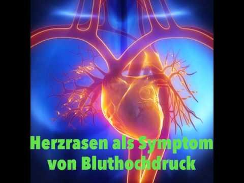 Symptome von Bluthochdruck ++ Hypertonie ++ hoher..