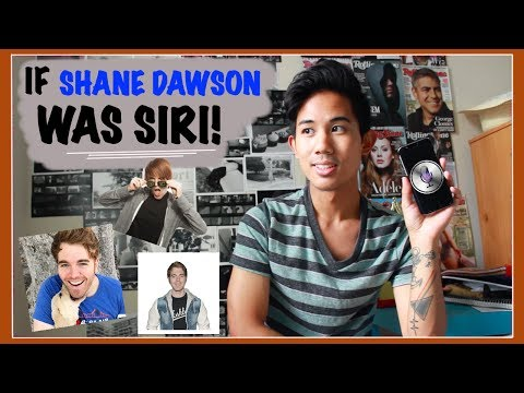 If Shane Dawson Was Siri