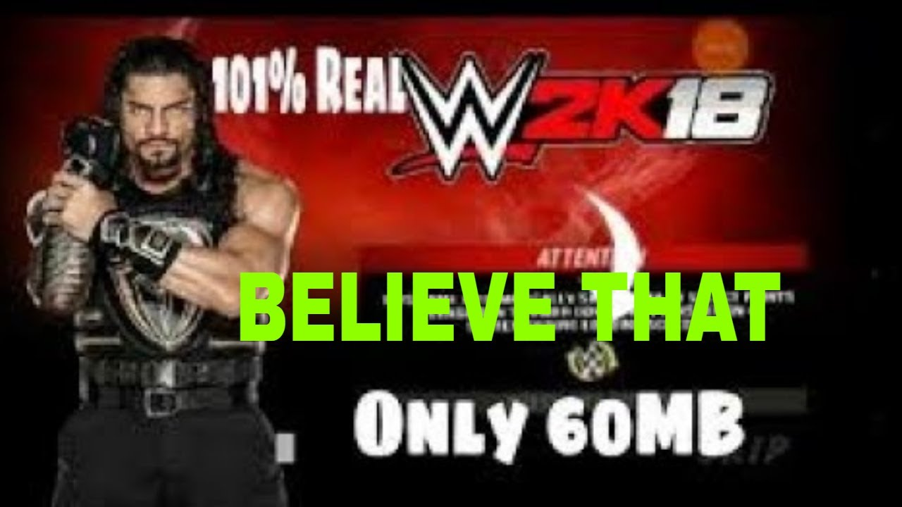 How To Download Wwe 2k18 Highly Compressed For Pc Youtube