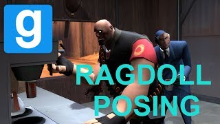GMOD 13 Ragdoll Posing [HD] [Part 3]