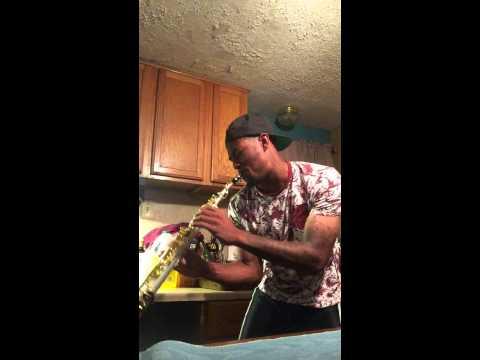 Corey Staggers Soprano Sax version to