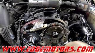 Audi A4 A3 Q5 VW Golf GTI Jetta Tiguan 2.0T TFSI Timing Chain Replacement DIY by Edge Motors Part2