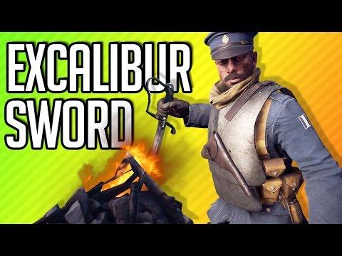 THE EXCALIBUR SWORD | Battlefield 1