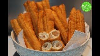 Fried Breadstick Recipe – Cách làm Dầu Cháo Quẩy