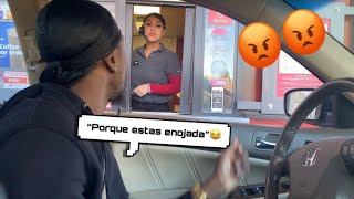 I SPOKE ONLY SPANISH IN DRIVE-THRUS AND THIS HAPPENED... 😯😂
