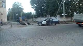 калининградская обл город СОВЕТСК  АВАРИЯ