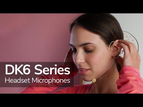 Saramonic DK6 Headset Microphone Series   Lightweight Mics with Professional, Amazing Sound