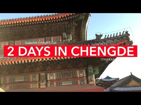 2 Days in Chengde | Chengde Itinerary & Tour Suggestion