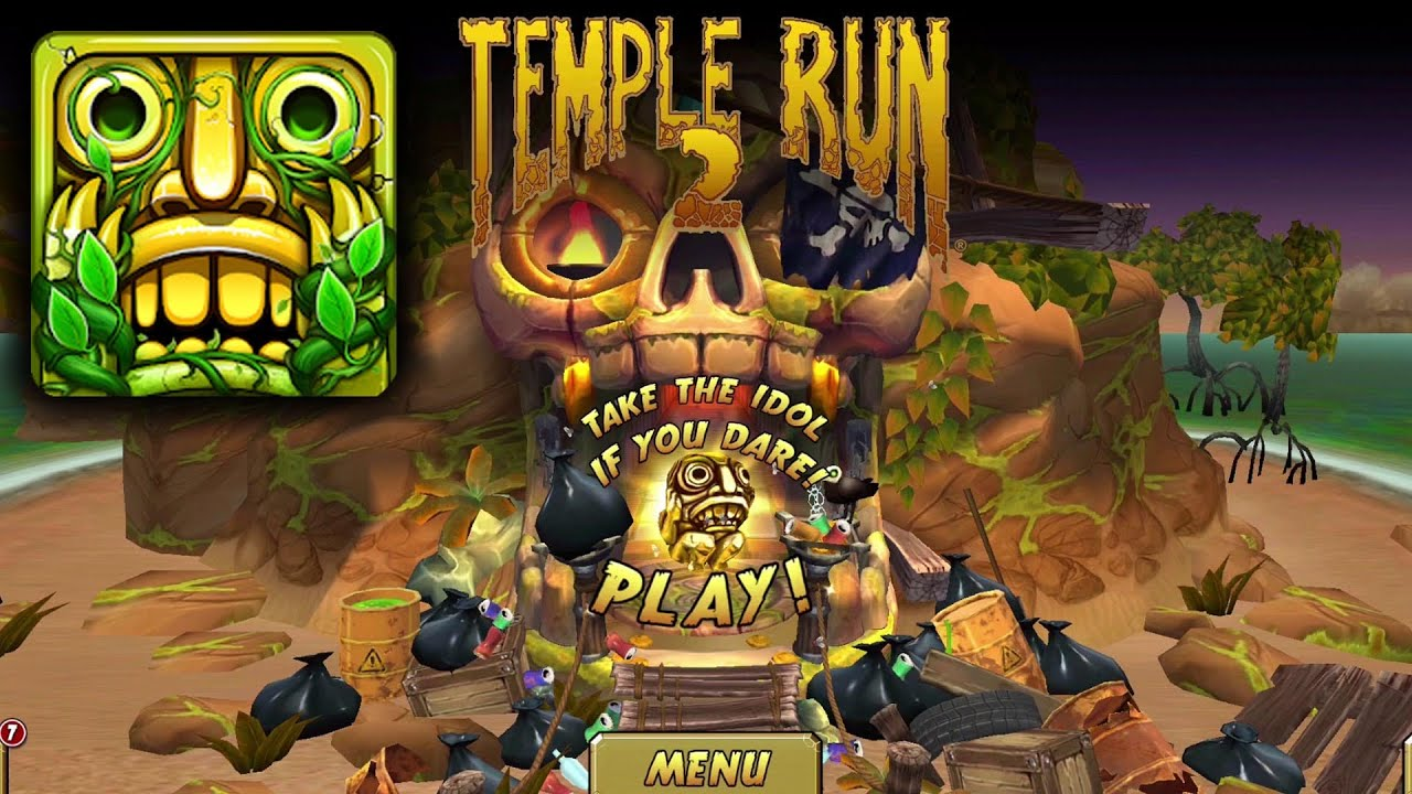 Temple Run 2 Earth Day Challenge Gameplay - Earth Day ...