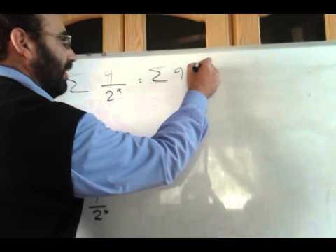 Series 2 - Geometric series convergence  الاستاذ ثامر قدورة
