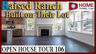 Open House Tour (106) - Raised Ranch Built on Customer's Lot in Burlington Wisconsin