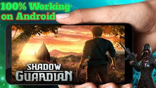 [200] MB 🔥Shadow Guardian HD BY Future Gaming Fix All Problems On Any Android Games