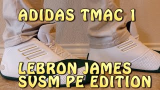 Lebron back to 23 - Throwback Adidas TMAC 1 Lebron James PE edition review with ON FEET