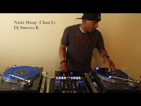 2018 DJ Smoove K mixing Nicki Minaj - Chun Li Live - Pioneer DJM S9