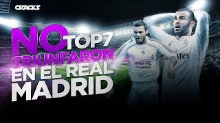 TOP 7 | PROMESAS que NO TRIUNFARON en el REAL MADRID