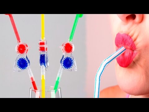 5 Life Hacks with Drinking Straw