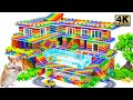 - Build Mansion on the Hill Has Luxury Pools for Turtle and Hamster With Magnetic Balls Satisfying