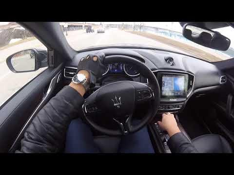 Maserati 0 60 >> Pov Drive In The 2016 Maserati Ghibli Sq4 Loud Tunnel Runs