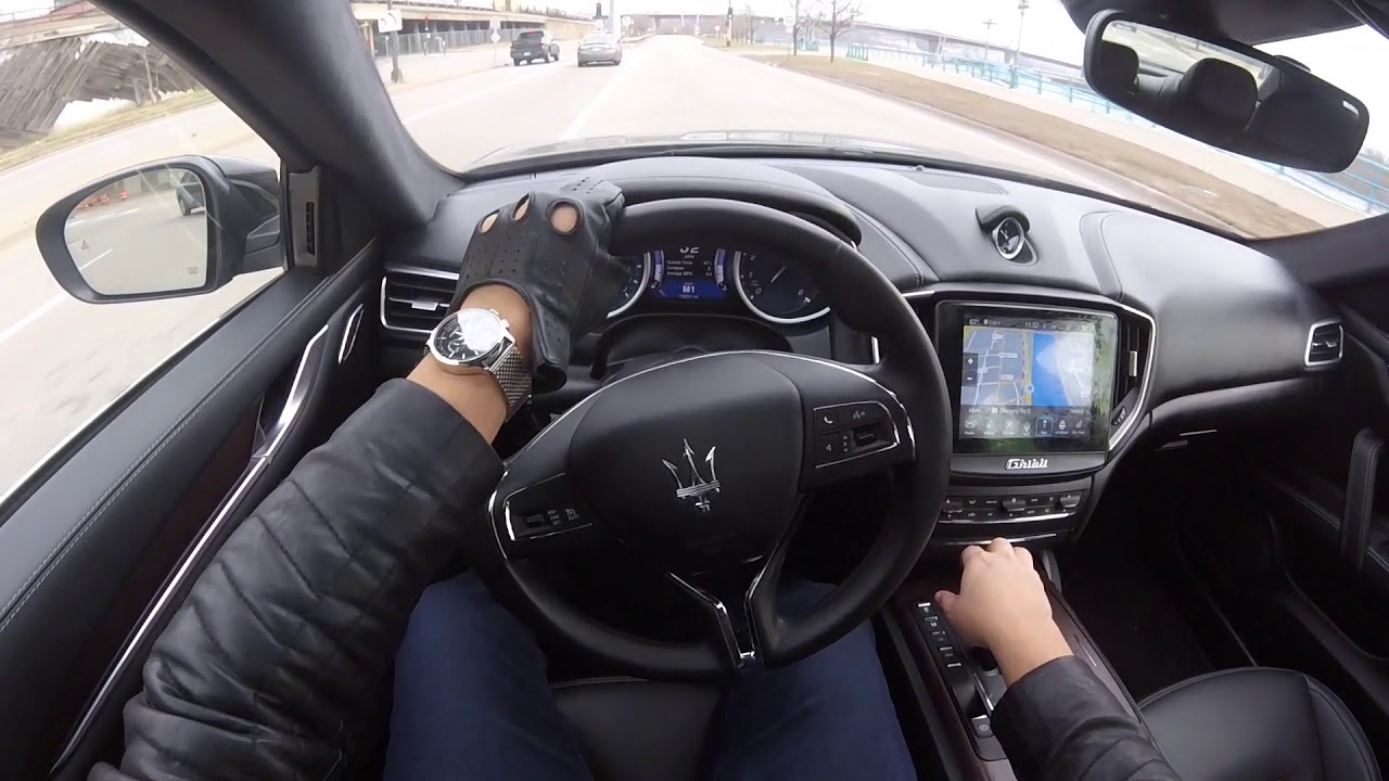 Pov Drive In The 2016 Maserati Ghibli Sq4 Loud Tunnel Runs 0 60