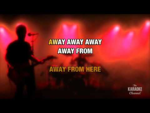 Away From Here in the style of Enemy, The | Karaoke with Lyrics
