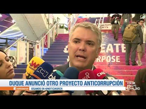 Duque anunció otro proyecto anticorrupción
