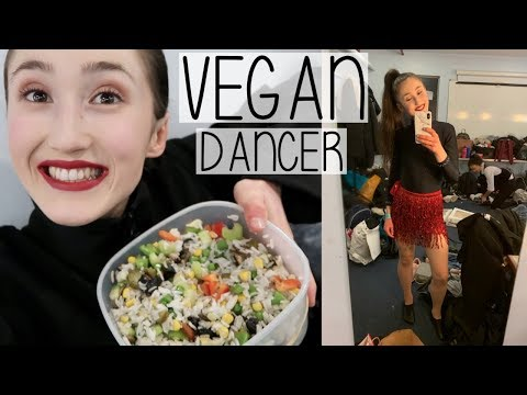 WHAT I EAT IN A DAY AS A HEALTHY VEGAN DANCER | COMPETITION DAY VLOG