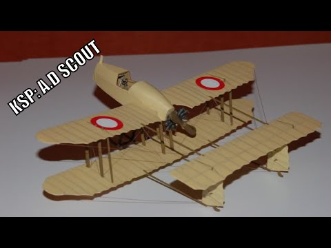 KSP: historical corner. A.D SCOUT ww1 anti zeppilin plane.